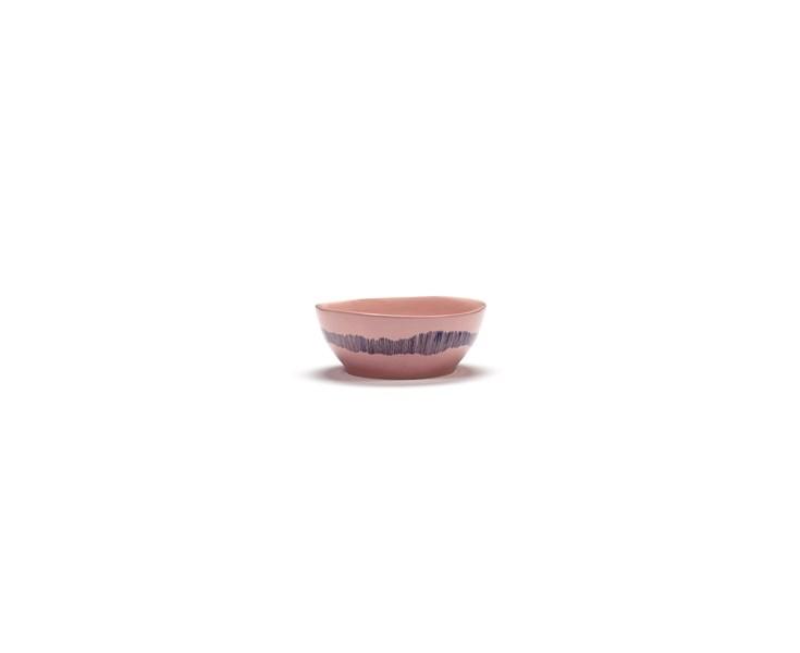serax-yotam-ottolenghi-feast-kom-l-18x18x8cm-delicious-pink-swirl-stripes-blauw-85439