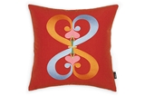 Vitra Embroidered Pillow Double Heart