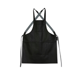 Dutchdeluxes back crossed apron leather black