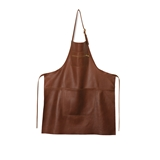 Dutchdeluxes Basic apron classic brown