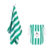 Dock & Bay Cabana Collection cooling towel 69x33cm green