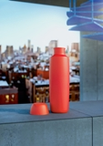 Alessi Food à porter dubbelwandige thermos 50cl rood