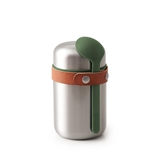 Black + Blum On the Go stainless steel food flask 40cl olive