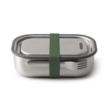 Black + Blum On the Go stainless steel lunch box 1L olive