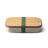 Black + Blum On the Go stainless steel sandwich box 0.9L olive