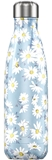 Chilly's drinkfles 500ml floral daisy