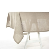 Libeco Polylin Washed tafelkleed 160x300cm canelle